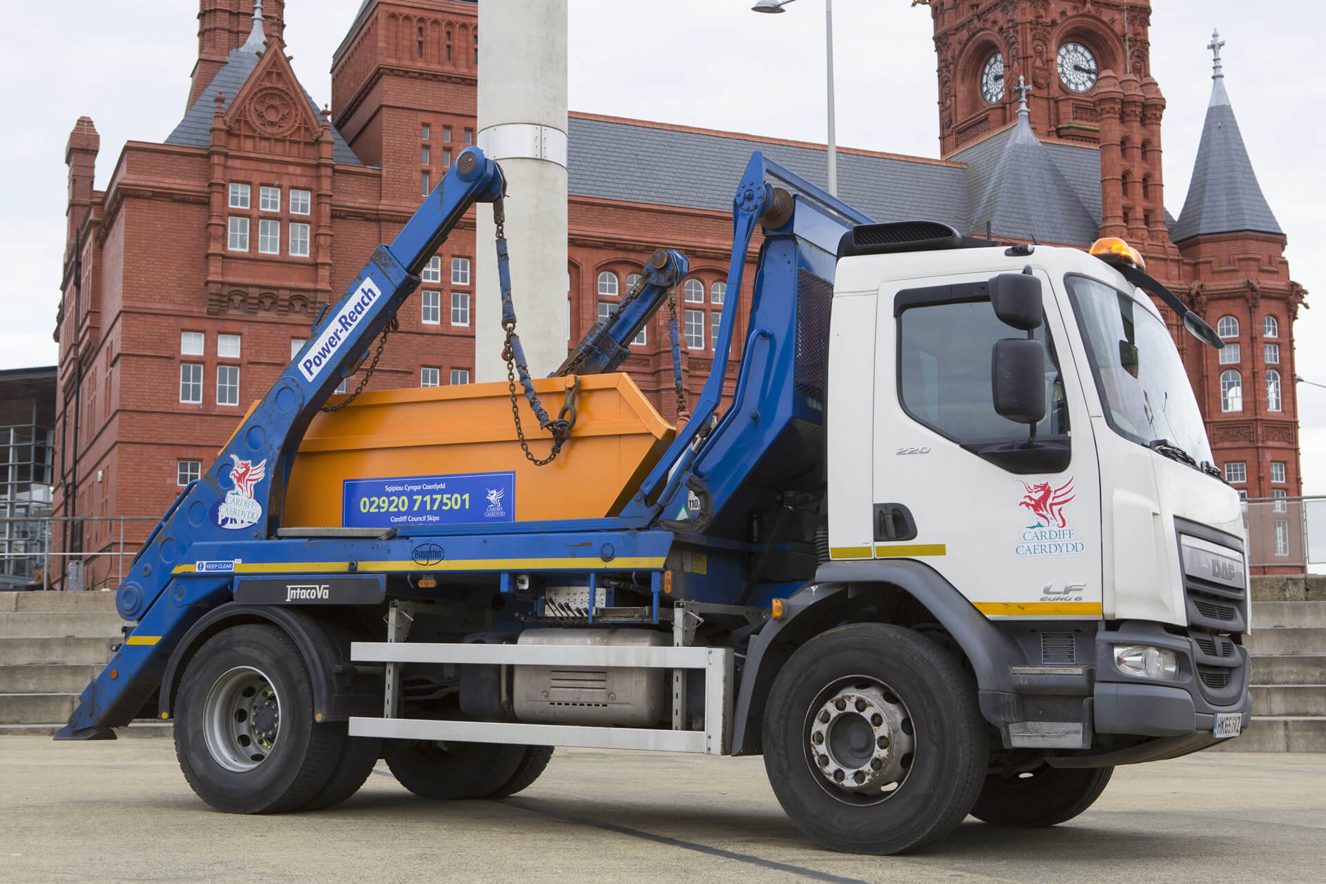 Skip Hire - Cardiff Council Commercial Waste