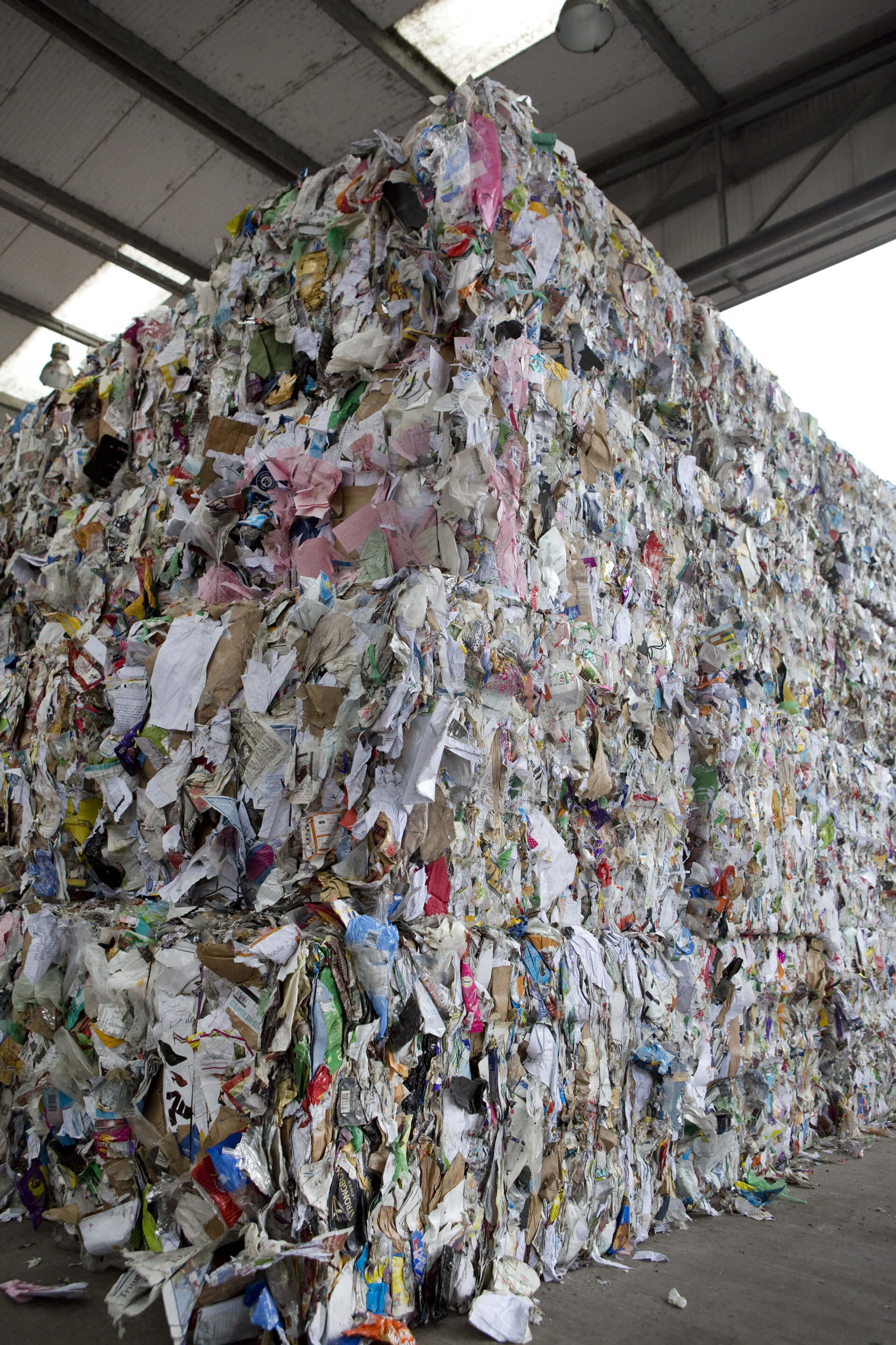 Recycling - Paper Bales