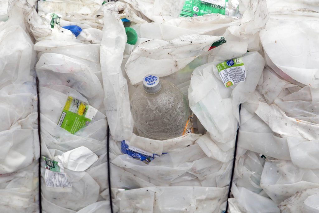 Recycling - Plastic Bales